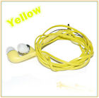 New 3.5mm In-Ear Stereo Earphone Headset Earbuds Mic Volume Control for Samsung