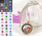 Wholesale 12Pcs Floating Charms For Glass Living Memory Lockets Random Color #4