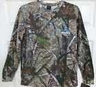 FORD TRUCKS TRUE TIMBER CAMO EMBROIDERED LOGO LONG SLEEVE TEE SHIRT