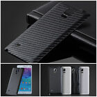 Battery Door Replace Back Case Luxury Leather PU Cover for Samsung Galaxy Note 4