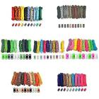 Paracord Parachute Cord & Buckle DIY Combo Bracelet Kits Crafting Jewelry 100 FT