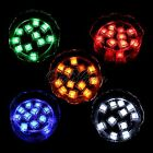 6/12Pc Flash Ice Cube LED Color Luminous In Water Nightlight Party Wedding Décor