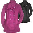 CABAN Fleece Jacke warme FLEECEJACKE Kurzmantel LILA Gr.38 40 S/M