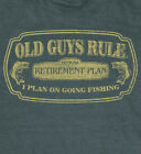 OLD GUYS RULE OFFICIAL RETIREMENT PLAN DARK HEATHER TEE SHIRT