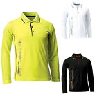 Mens Womens Dryfit Quick Dry Coolmax Golf Tennis Collar Polo Tshirts Top TM1251
