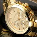 Taylor Cole Chronograph Date 24 Hours Ladies Women Quartz Wrist Watch + Box