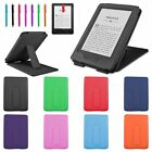 """Leather Stand Case Cover for 2014 New Amazon Kindle 6"""" eReader 7th Gen +Film/Pen"""