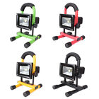 Waterproof 10W 2 Input Modes LED Rechargeable Flood Light Emergency Spotlight