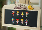 4pcs The Lalaloopsy Fridge Magnets Refrigerator Magnets,Magnetic Sticker Gifts