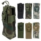 High Density Nylon Tactical Gear Military Molle Water Bottle Bag Pack Pouch New