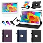 360 Rotating Leather Stand Case Cover for Samsung Galaxy Tab 4 10.1 inch Tablet