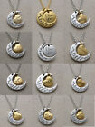 "New Family ""I LOVE YOU TO THE MOON AND BACK "" Charm Necklace Pendant Gold/Silver"