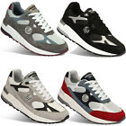 New Paperplanes Mens Sports Training Mesh Leather Fashion Athletic Shoes