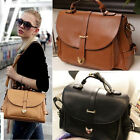 Women Ladies Handbag Faux Leather Tote Cross body Satchel Shoulder Messenger Bag
