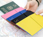 Degage Flat Passport Holder Case Cover Ticket Card ID Cute Korea Wallet Travel