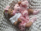 SUNBEAMBABIES REBORN FAKE BABY GIRL CHILD FRIENDLY REALISTIC DOLL FAST DELIVERY