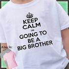 KEEP CALM I'm going to be a BIG BROTHER Shirt or Bodysuit baby announcement