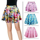 Fashion Women High Waist 3D Print tutu skirt Adventure Time skirt Mini dress