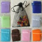 SALE 25/50/100 Pcs Sheer Organza Wedding Party Favor Gifts Candy Bags Pouches