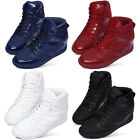 New Paperplanes Lace up Hidden Taller Insole Athletic Fashion Womens Shoes