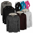 Urban Classics   Winter Zip Hoodies Teddy Fell Hoody Jacke Damen & Herren Mod.