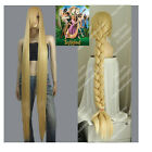 Tangled Rapunzel Bold Blonde Tails child Cosplay Wig Occident Country style Wig