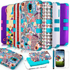 New Blue Hybrid Impact Hard Case Cover Protector For Samsung Galaxy SIV S4 i9500