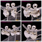 Beauty Dangle Silver Star Butterfly Knot Heart Ball Fashional Jewelry Earrings