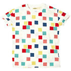 LEVI'S MADE AND CRAFTED SS14 LMC TEE SQUARES MULTI RRP £65