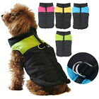 Small - Large Waterproof Pet Dog Puppy Coat Jacket Winter Quilted Padded Puffer