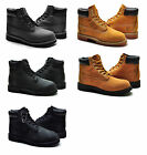 Timberland Youth Boot 6 Inch Premium Wheat Black Scuff proof Brush Suede