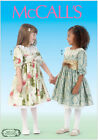 McCall's 7075 Sewing Pattern to MAKE Pretty Traditional Girls Dresses