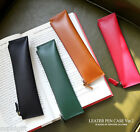 The Basic Leather Pencil Case Ver.2 Pen Pouch Holder Storage Organizer Cute Bag