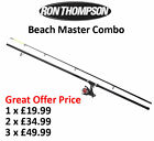 Sea Fishing Beach Caster - Combo RT 12' 360cm 4-8oz 2pc Rod + RT 65 Surf Reel*