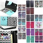 For Huawei Tribute Fusion 3 Y536A1 Hybrid Leather Wallet Pouch Case Flip Cover