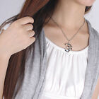 Gold&Silver OM AUM Symbol BUDDHISM Pendant Necklace Women Clavicle Chain Gift