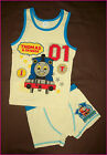 THOMAS & FRIENDS Sz 3 4 5 6 or 7 - 2pc Underwear Set UNDIES & VEST - Trains NEW