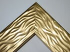 "2"" Wide Gold Wave Wood Canvas Picture Frame-Custom Made Odd Sizes"