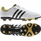 ADIDAS MENS 11 CORE TRX FG FOOTBALLS BOOTS SOCCER SPORTS LEATHER SHOES WHITE NEW