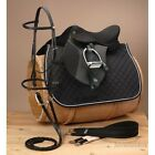 15 Inch English Saddle Package - Pro Am - Synthetic Regular or Wide Tree