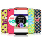 HEAD CASE DESIGNS POSITIVE VIBES SERIES 2 HARD BACK CASE FOR APPLE iPHONE 3GS