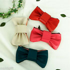 Ribbon Pencil Pen Pocket Case Makeup Pouch Holder Bag Zip Around Cute Organizer
