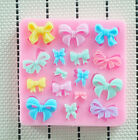 Silicon Fondant Moulds sugarcraft Wedding Cake bow tie Bowknot Baking Tool mold