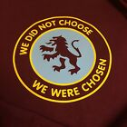 Aston Villa We Did Not Choose We Were Chosen Retro Badge Football T-Shirt