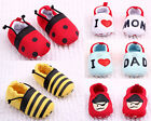 Toddler Baby Boys Girls Cotton Soft bottom Crib Shoes Sneakers 0-12 Months /V
