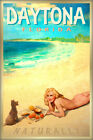 DAYTONA Florida Marilyn Monroe Poster Retro Beach Pin Up Girl Art Print 263