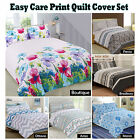 Easy Care Printed Quilt Cover Set by Apartmento - SINGLE DOUBLE QUEEN KING