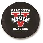 Valdosta State Blazers NCAA Exact Fit Black Vinyl Spare Tire Cover - Pick Size:
