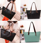 New Fashion Women's Leather Satchel Shoulder Oracle Pattern Handbag Shoppers Bag