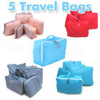 5x Travel Luggage Storage Bag Clothes Tidy Organizer Pouch Suitcase Handbag Case